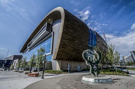 Fiserv Forum Milwaukee Bucks