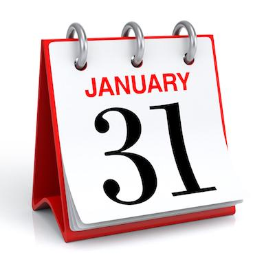 January 31 Renewal Due Date