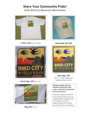 Bird City Wisconsin Store Merchandise